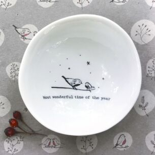 'Most Wonderful Time of The Year' Medium Wobbly Bowl