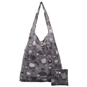 Grey Sheep Recycled Foldaway Shopper Bag