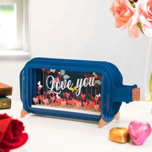 Love You Message In A Bottle Card