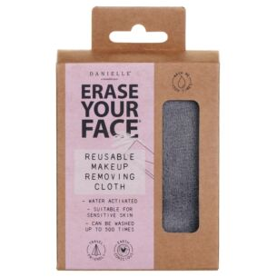 Grey Erase Your Face Reusable Makeup Removing Cloth