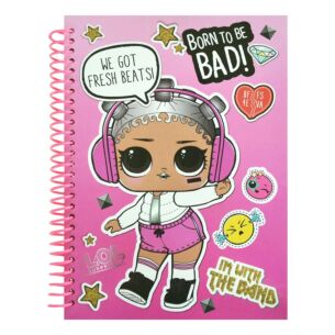 A5 'Born to Rock' Notebook
