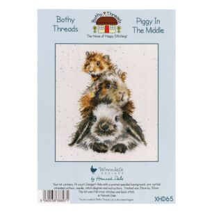'Piggy In The Middle' Bothy Threads Cross Stitch Kit