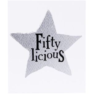 Fifty-Licious Birthday Card