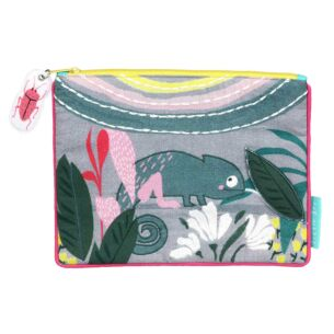 Little Arc Chameleon Quilted Pouch