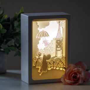 Moomin 'Umbrella' Shadow Box