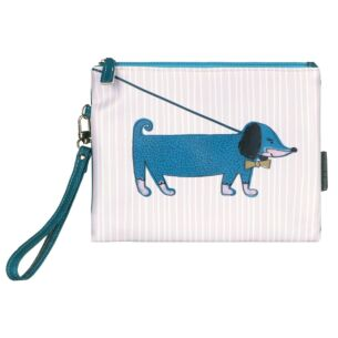 Over The Moon Sausage Dog Pouch with Strap