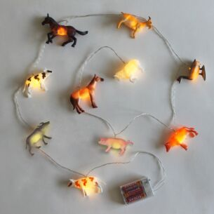 Farm Animals String Lights