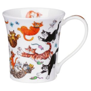 Cats Galore Jura shape Mug