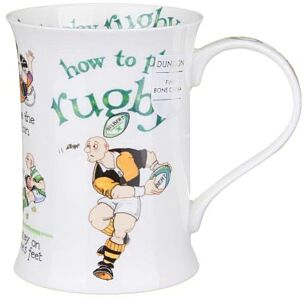 How to Play Rugby Cotswold shape Mug
