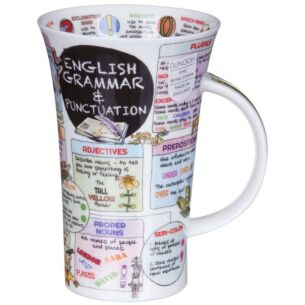 English Grammar Glencoe Shape Mug