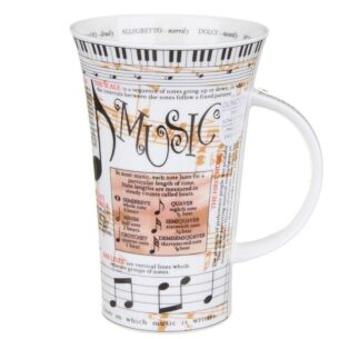 Music Glencoe shape Mug