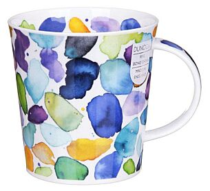 Blobs! Blue Lomond Shape Mug