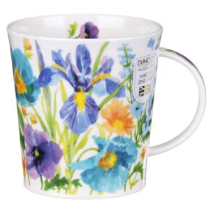 Kelmscott Blue Lomond Shape Mug