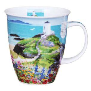 Sea View Lighthouse Nevis Shape Mug