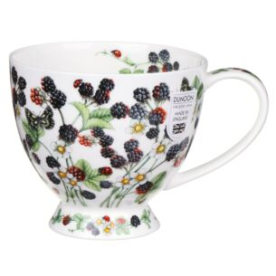 Wild Blackberries Skye Shape Mug