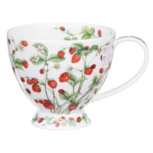 Wild Strawberries Skye Shape Mug