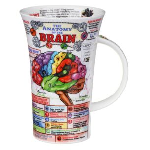 The Brain Glencoe Shape Mug