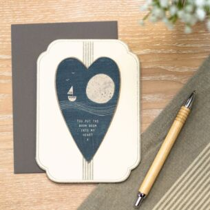 'Boom Boom Into My Heart' Card