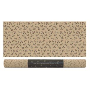 'Brown Paper Packages' Christmas Berry Branches Roll of Kraft Paper