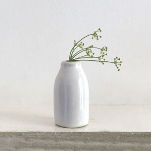 Little Pottery Milk Bottle