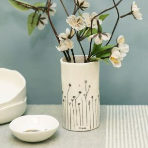 'Bloom' Porcelain Vase