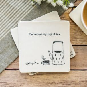 'My Cup of Tea' Square Coaster