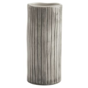 Scratched Lines Medium Hand Painted Vase