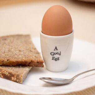 A Good Egg - Porcelain Egg Cup