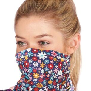 Snood with Filter Pocket – Ditsy Flowers