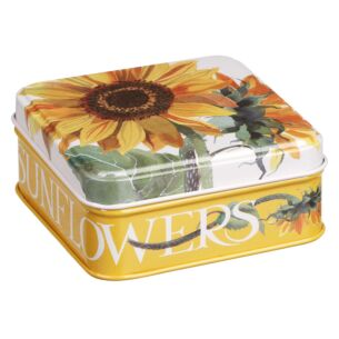 Flowers Sunflower Small Square Pocket Tin