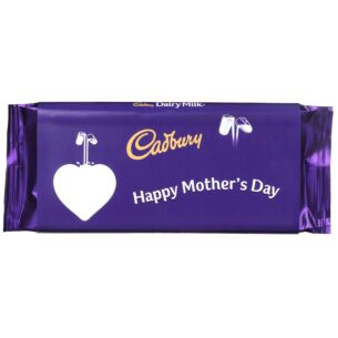 'Happy Mother's Day' 110g Dairy Milk Chocolate Bar