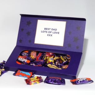 Personalised Heroes Chocolates Small Letterbox 290g Selection