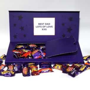 Personalised Heroes Chocolates Large Letterbox 580g Selection