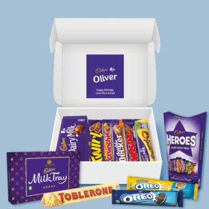 Personalised Chocolate Family Hamper