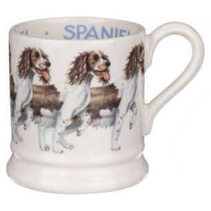 Dogs Brown & Cream Spaniel Half Pint Mug