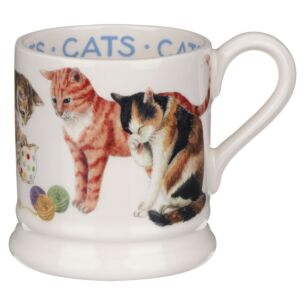 Cats All Over Half Pint Mug