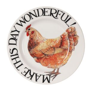 Rise & Shine Make This Day Wonderful 6 1/2 Inch Plate
