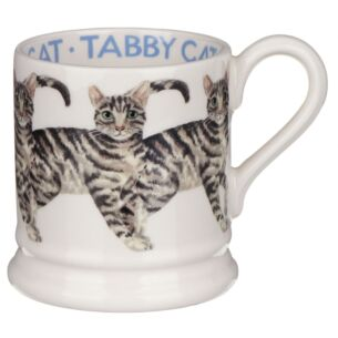 Cats Tabby Cat Half Pint Mug