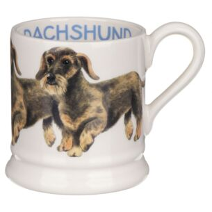 Dogs Wire Haired Dachshund Half Pint Mug