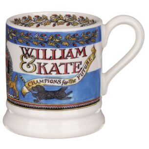 Events William & Kate 10th Anniversary Half Pint Mug
