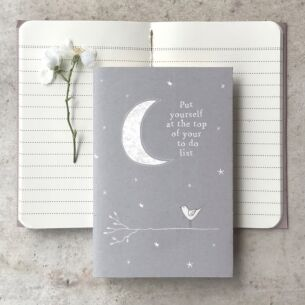 'Put Yourself On Top' Small Lined Notebook