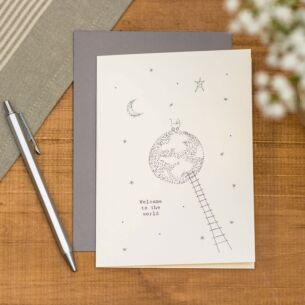 'Welcome To The World' Out Of This World Card