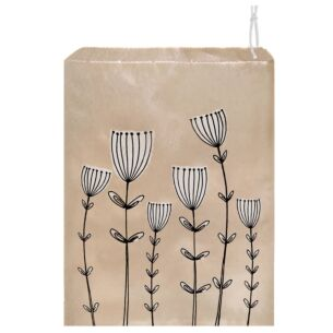 'Cow Parsley' Pack of 50 Large Strung Bags