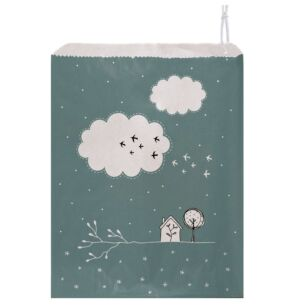 'Clouds' Pack of 50 Large Strung Bags