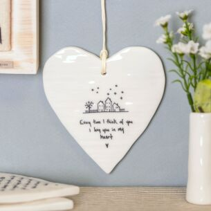 'Every Time I Think Of You' Wobbly Round Heart