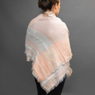 Soft Touch Pink Blanket Scarf