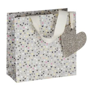 Paper Salad Hearts Small Gift Bag