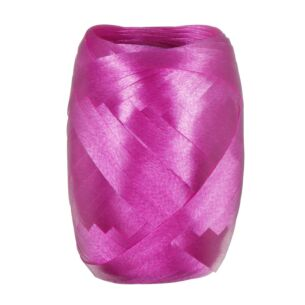 Fuschia Pink Iridescent Curling Ribbon