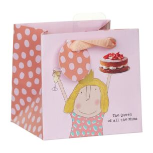 Rosie Made A Thing 'Queen of Mums' Small Gift Bag
