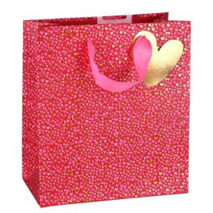 Paper Salad Love Hearts Medium Valentines Gift Bag